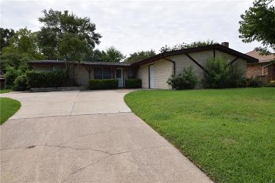 Garland Single Family Home For Sale: 526 Reinosa Drive
