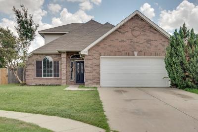 Haltom City Single Family Home Active Option Contract: 5720 Colorado Court