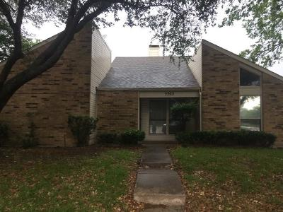 Garland Single Family Home Active Option Contract: 5303 Peninsula Way