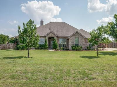 Haslet Single Family Home Active Option Contract: 401 Lonesome Trail