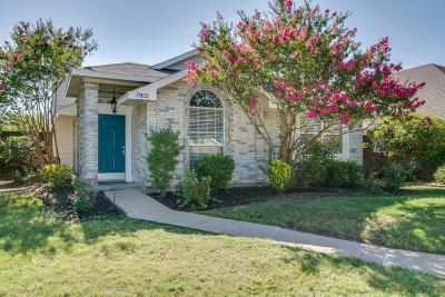 Frisco Single Family Home Active Option Contract: 7922 Abbey Road