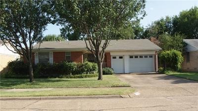 Garland Single Family Home Active Option Contract: 1306 Bowie Street