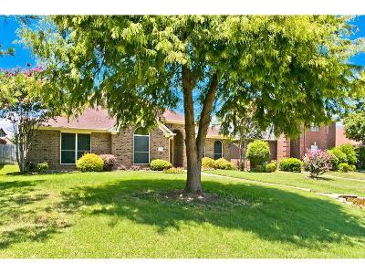 Rowlett Single Family Home Active Option Contract: 6409 Warwick Drive