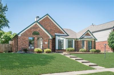 Allen Single Family Home Active Option Contract: 818 Fawn Valley Drive
