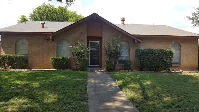 Garland Rental For Rent: 2825 Teakwood Drive