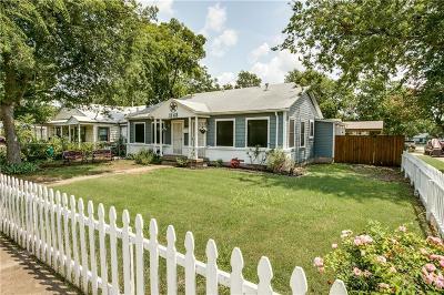 Dallas Single Family Home For Sale: 1148 Dumane Street