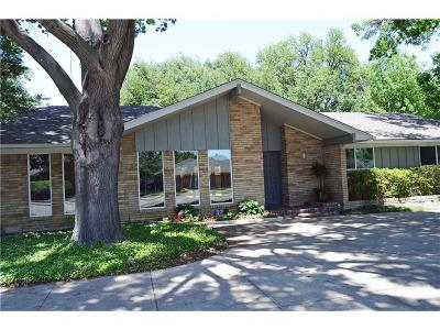 Single Family Home For Sale: 4823 Harvest Hill Road