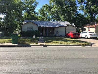 Stephenville Single Family Home For Sale: 1321 W Frey Street