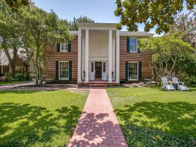 Dallas Single Family Home For Sale: 6814 Avalon Avenue