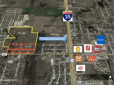 Red Oak Residential Lots & Land Active Option Contract: 2600 Ovilla Road