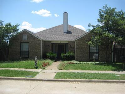 Richardson Rental For Rent: 810 Woodway Lane