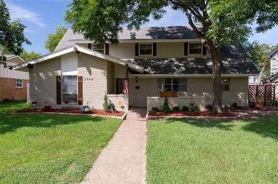 Farmers Branch Single Family Home For Sale: 2940 Meadow Green Drive