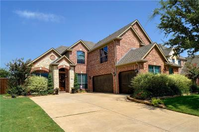 Keller Single Family Home For Sale: 1740 Lewis Crossing Drive