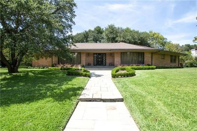 Dallas Single Family Home For Sale: 10211 Gaywood Road