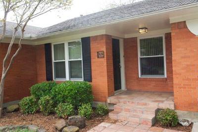 Richardson Rental For Rent: 635 Scottsdale Drive