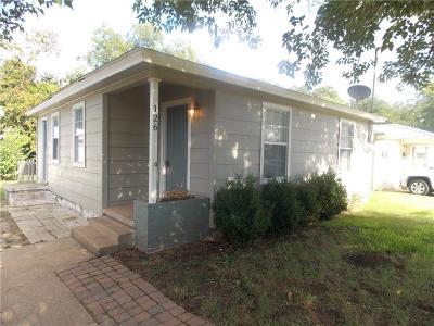 White Settlement Single Family Home Active Contingent: 126 N Roe