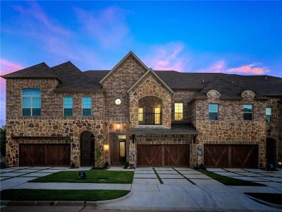 Carrollton Townhouse For Sale: 2732 Cedar Elm Drive