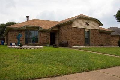 Allen Single Family Home Active Option Contract: 1304 Petunia Drive