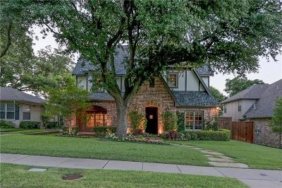 Dallas Single Family Home For Sale: 6737 Winton Street