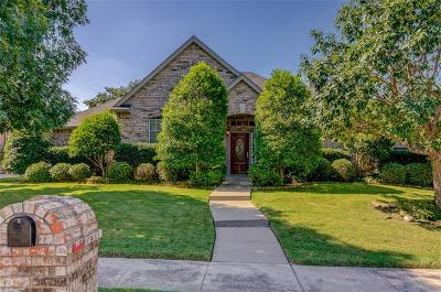 Keller Single Family Home Active Option Contract: 1930 Fall Creek Trail