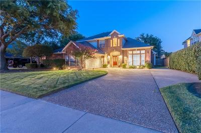 Coppell Single Family Home Active Option Contract: 208 Wilshire Drive