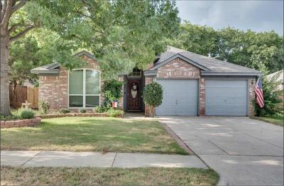 Lake Dallas Single Family Home Active Contingent: 763 Winding Oak Bend