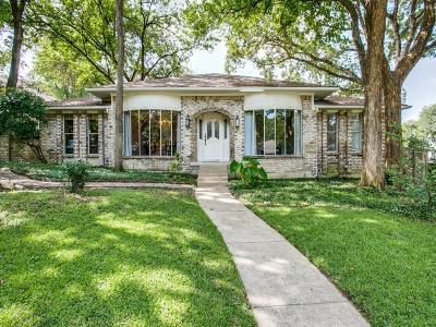 Dallas Single Family Home For Sale: 9114 Raeford Drive
