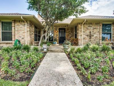 Dallas Single Family Home For Sale: 7731 Lone Moor Circle
