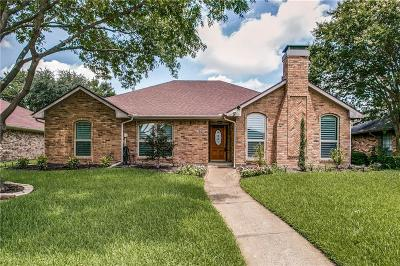 Carrollton Single Family Home Active Option Contract: 1603 Ginger Drive