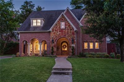 Dallas Single Family Home For Sale: 5218 Merrimac Avenue