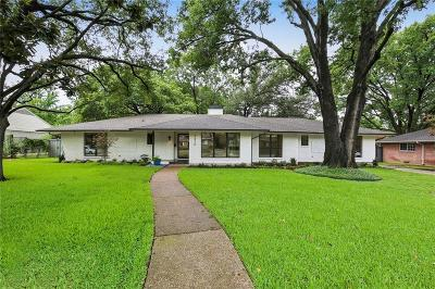 Dallas Single Family Home For Sale: 5410 Preston Haven Drive