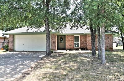 Somervell County Single Family Home Active Contingent: 309 Paluxy Avenue