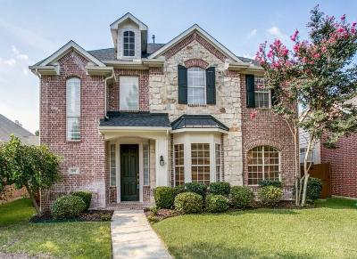 Allen Single Family Home Active Option Contract: 2037 Camelot Drive