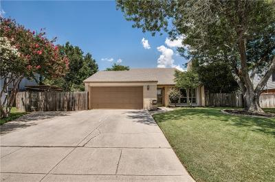 Grapevine Single Family Home Active Option Contract: 938 S Riverside Drive