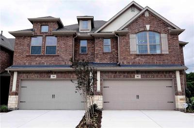 McKinney Townhouse For Sale: 2101 Jameson Lane