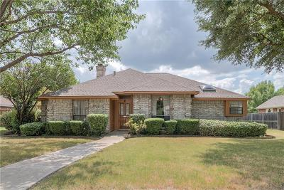 Carrollton Single Family Home Active Option Contract: 1215 Shawnee Trail