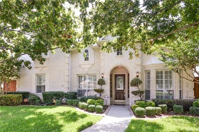 Plano Single Family Home Active Option Contract: 3305 Crescent Court