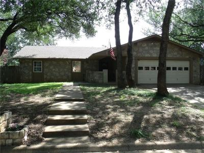 Azle Single Family Home Active Option Contract: 929 Lake Ridge Drive