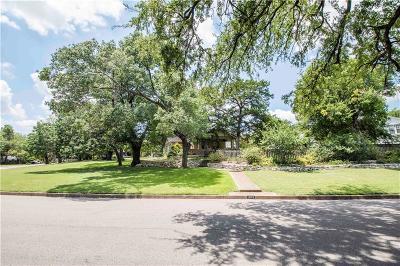 Dallas Single Family Home For Sale: 1203 Woodlawn Avenue