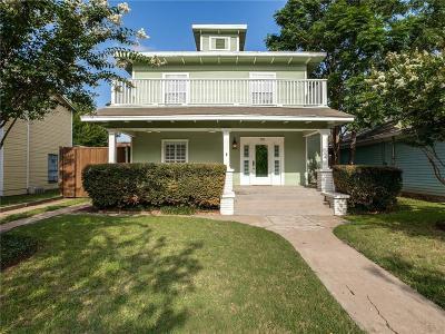 Dallas Single Family Home For Sale: 719 N Madison Avenue