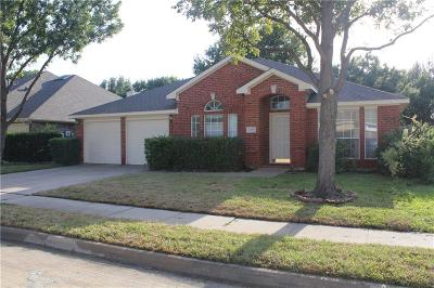 Flower Mound Single Family Home Active Contingent: 2409 Gunnison Trail