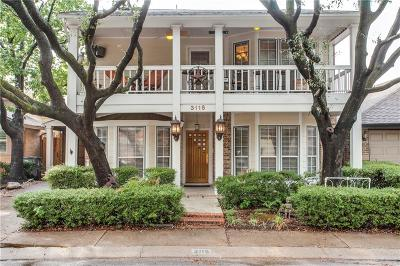 Dallas Single Family Home For Sale: 3115 Bryan Street