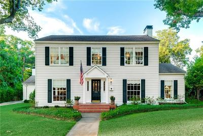 Waxahachie Single Family Home For Sale: 608 W Marvin Avenue