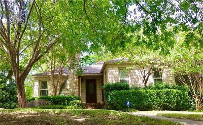 Dallas Single Family Home Active Option Contract: 1114 Valencia Street