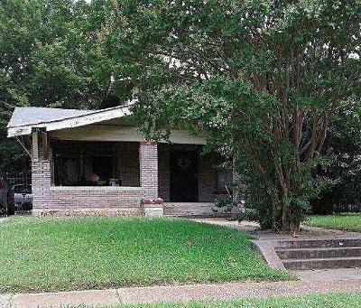 Dallas Single Family Home For Sale: 2406 South Boulevard