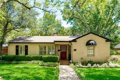 Dallas Single Family Home For Sale: 614 Harter Road