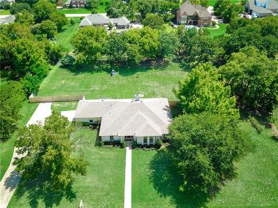 Southlake Single Family Home For Sale: 1607 Mockingbird Lane