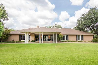 Dallas TX Single Family Home For Sale: $1,249,000