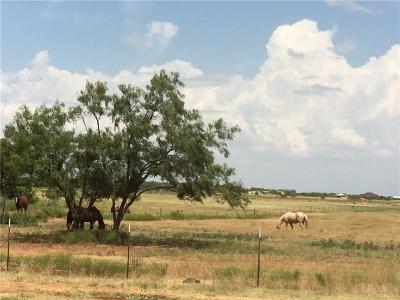 Abilene Farm & Ranch For Sale: 257 Fricket Ave. Avenue