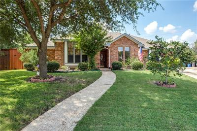 Allen Single Family Home Active Option Contract: 1015 Sandy Creek Drive